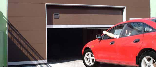 гаражные ворота секционные