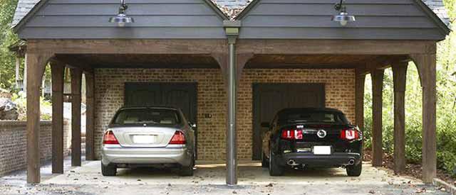 Как хранить автомобиль, в гараже или под навесом