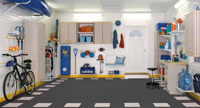 Правильное обустройство гаража поможет создать домашний уют