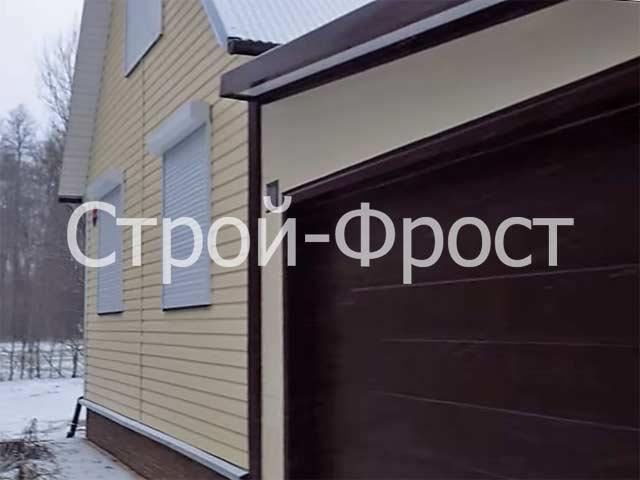 Где и как построить гараж - пристроенный к дому гараж