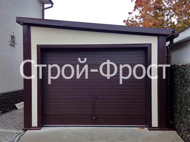 Где и как построить гараж - отдельно стоящий гараж