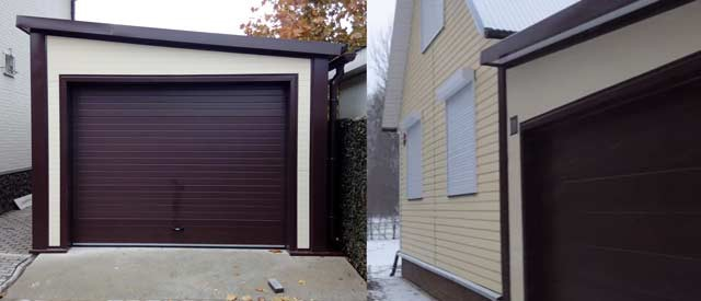Где и как построить гараж - отдельно стоящий и пристроенный варианты