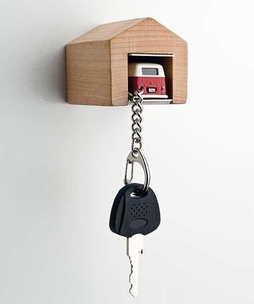 Идеи обустройства гаража - отдельный гараж для ключа от машины