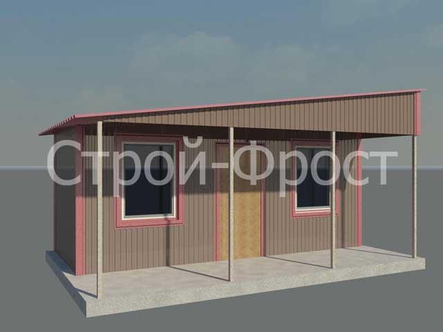 Визуализация того, как мы решили отремонтировать и немного улучшить этот каркасный дом