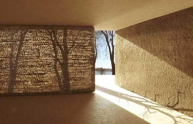 Построить гараж из прозрачного бетона возможно, но это очень дорого