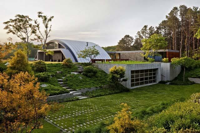 Любите природу - попробуйте построить зелёный гараж