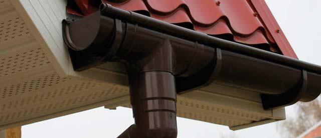 Как установить водосток на гараж недорого, но качественно