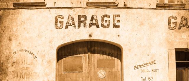 Старинный гараж
