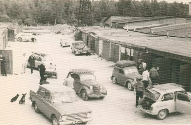 Советские гаражи