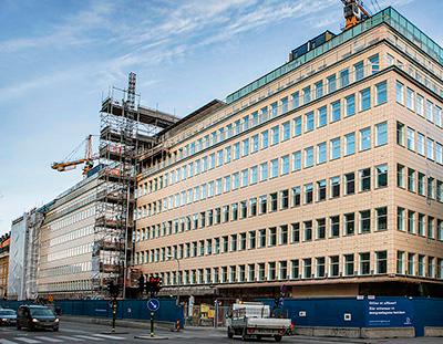 Здание в Стокгольме после утепления минватой стало потреблять в 3 раза меньше энергии, чем раньше