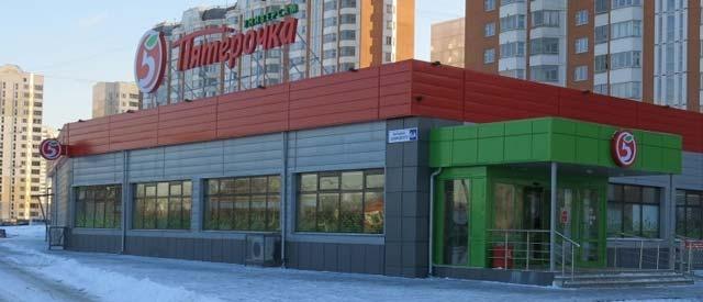 Супермаркет можно построить из сэндвич панелей очень быстро