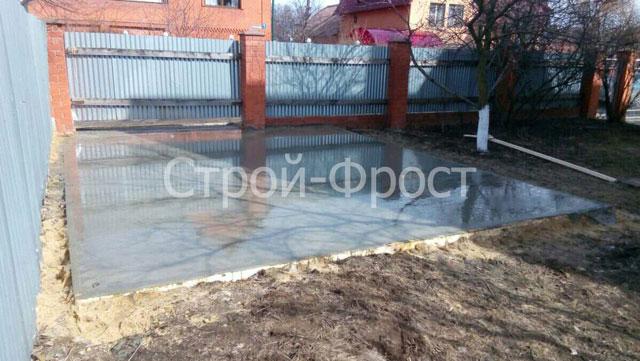 Фундамент гаража для Степана Александровича