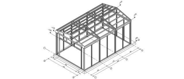 какпостроить гараж из металлического каркаса и профиля