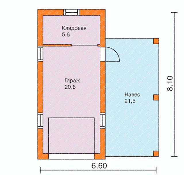 Если вас интересует строительство гаражей из пеноблоков под ключ, проекты найти очень легко.