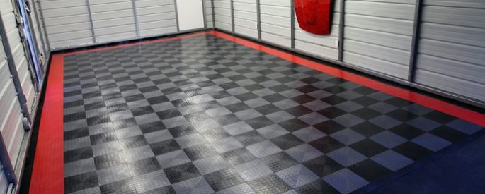 полимерное покрытие пола в гараже