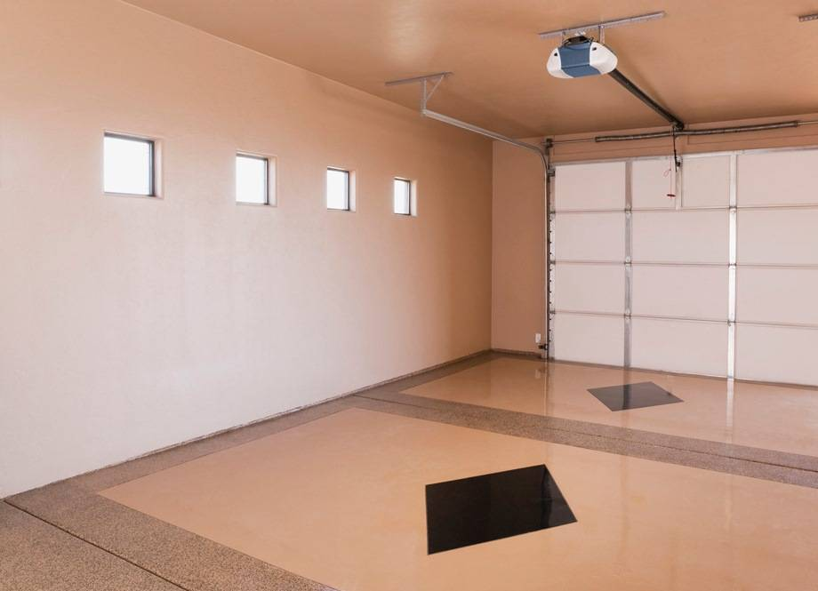 отделка стен в гараже