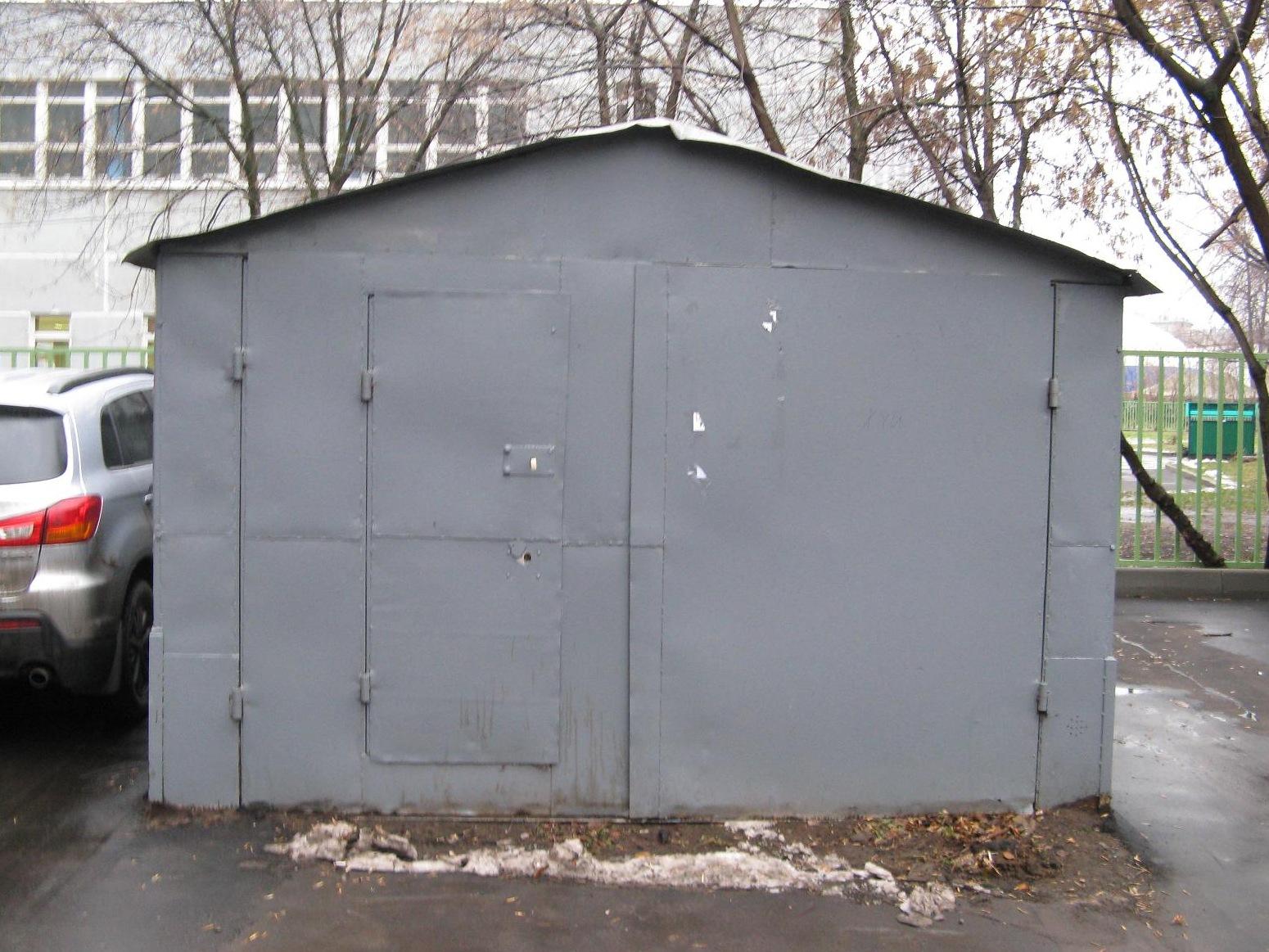 постройка металлического гаража
