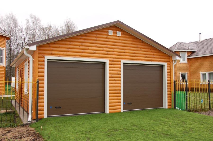постройка деревянного гаража
