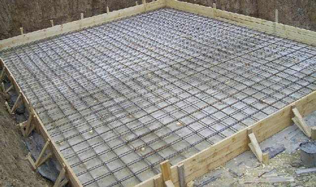 Фундамент плита для гаража