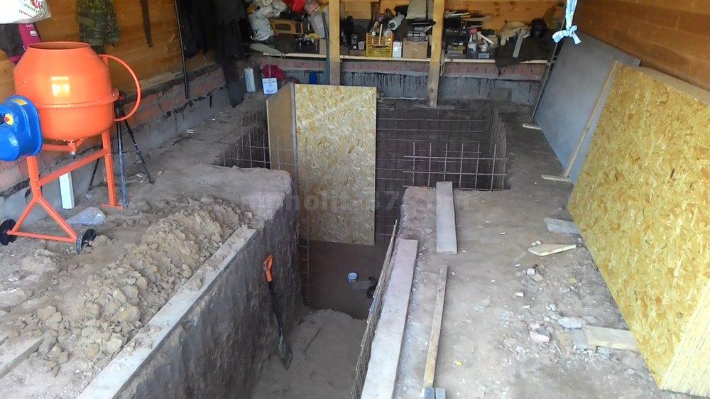 Готовый погреб в гараж гараж композиторов купить