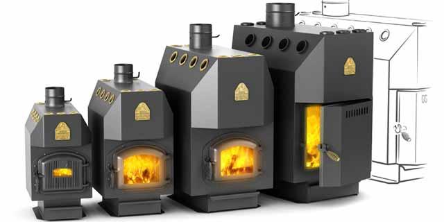 Печное отопление гаража может быть и самый экономный способ при условии наличия дешевых дров, но требует много времени и внимания