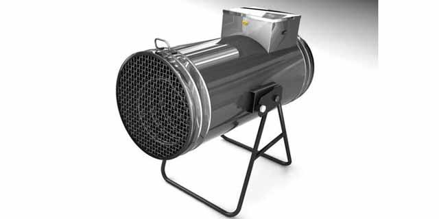 Тепловая пушка - можно рассматривать такое отопление гаража как самый экономный способ просушить машину