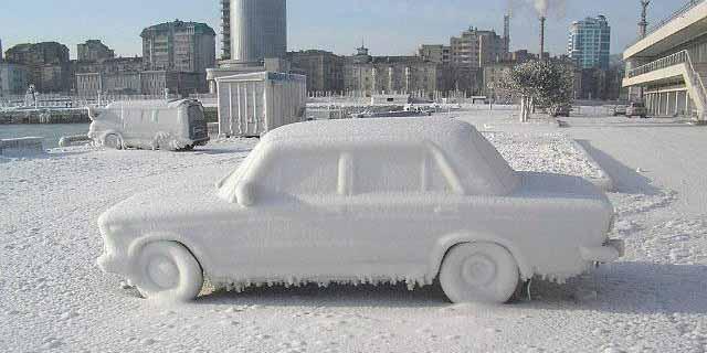 Хранение автомобиля на улице - не всегда хорошая идея