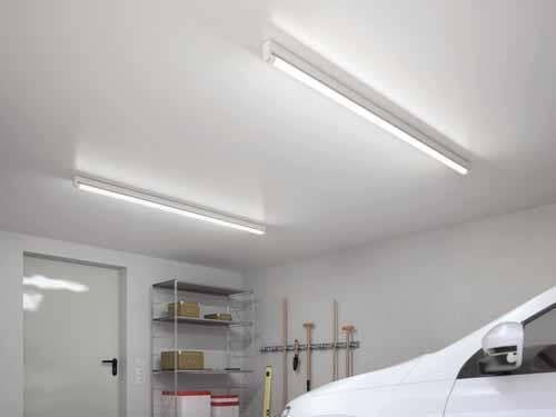 Хорошее освещение в гараже может просто преобразить помещение