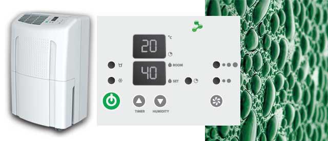 Осушитель воздуха и конденсат в гараже