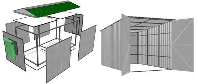 Быстровозводимый гараж: обзор современных технологий