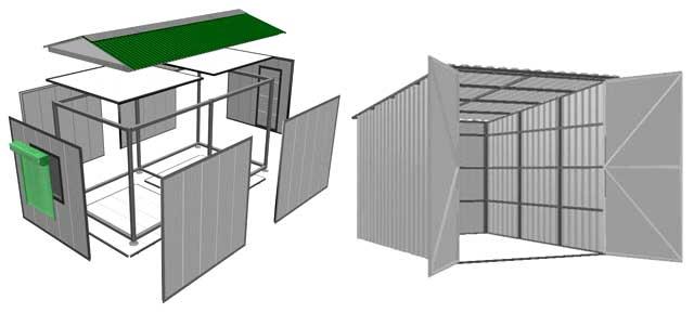 Куплю быстровозводимый гараж узаконивание металлического гаража