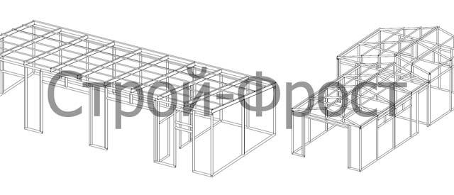 Делать гараж из сэндвич-панелей своими руками можно только по тщательно рассчитанному проекту