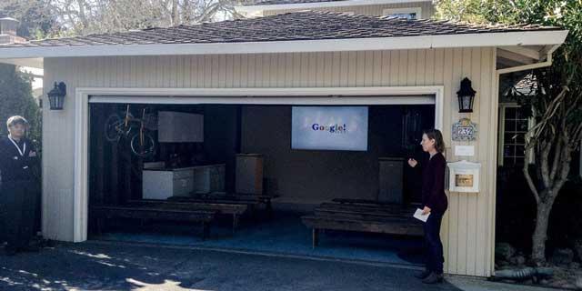 Новые возможности, как причина построить гараж - работа над проектом Google начиналась в гараже