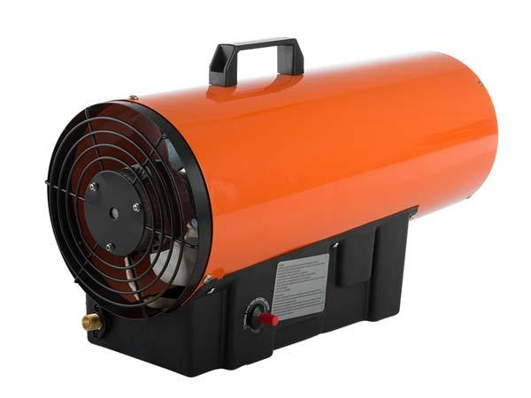 Мобильное отопление гаража газом - тепловая пушка