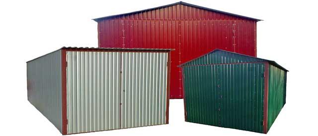 Из чего можно построить гаражный бокс - металл