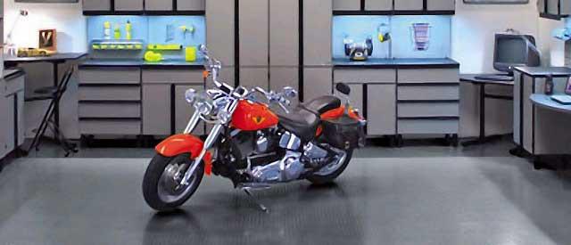 Гараж для мотоцикла или квадроцикла