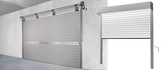 Рулонные металлические ворота в гараж