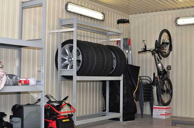 Правильная планировка гаража позволит всё расположить на своих местах