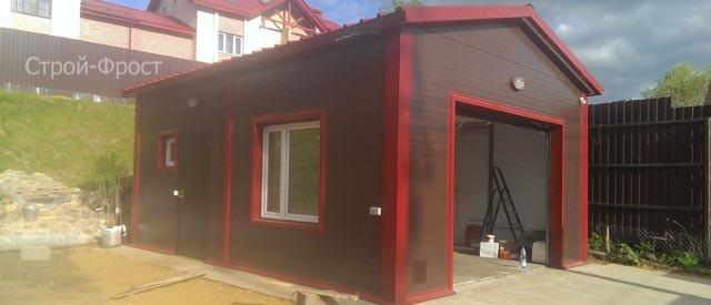 Нужно построить каркасный гараж нашему самому строгом заказчику