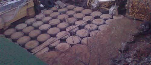 Дешевый фундамент из покрышек - плитный