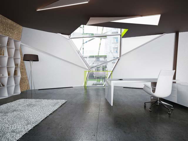 Каркасный офис, проект повисший в воздухе
