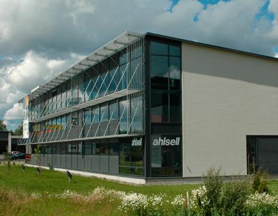 Строительство из сэндвич панелей в северных странах - офисное здание