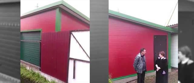 Каркасный гараж в Раменском