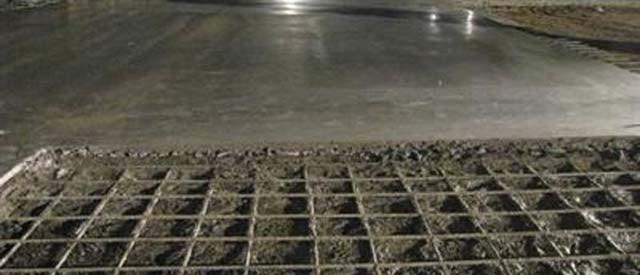 Стяжка в гараже – или как сохнет бетон