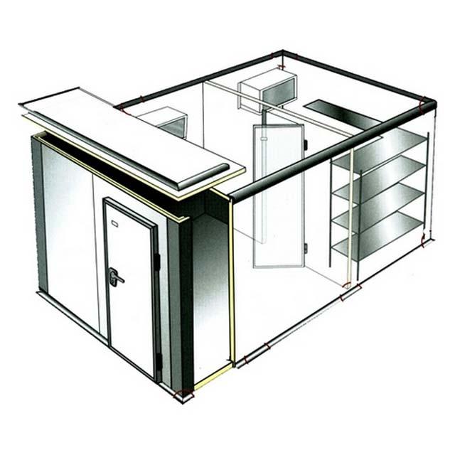 Холодильная камера из сэндвич-панелей - конструкция