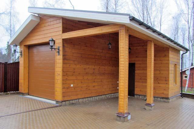 Хороший проект гаража из клееного бруса сочетает техническое совершенство и эстетическую привлекательность