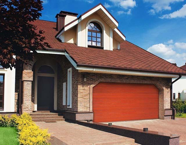 Встроенный в дом гараж трудно сделать и бюджетным, и безопасным