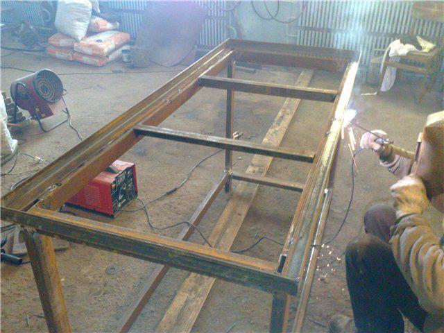 Как сделать стеллаж в гараже своими руками - фото