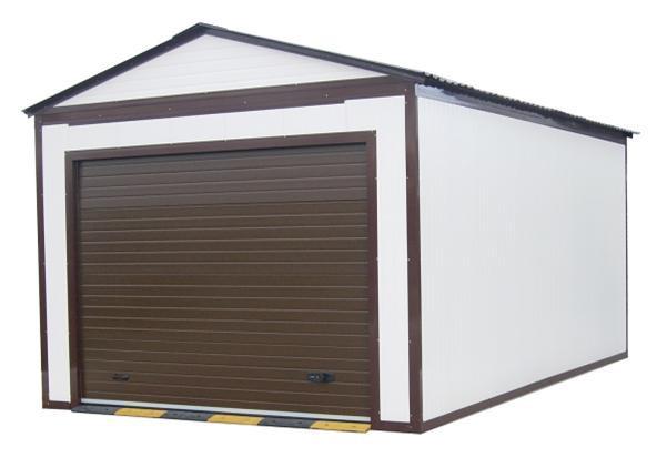 Строим гараж из СИП под ключ