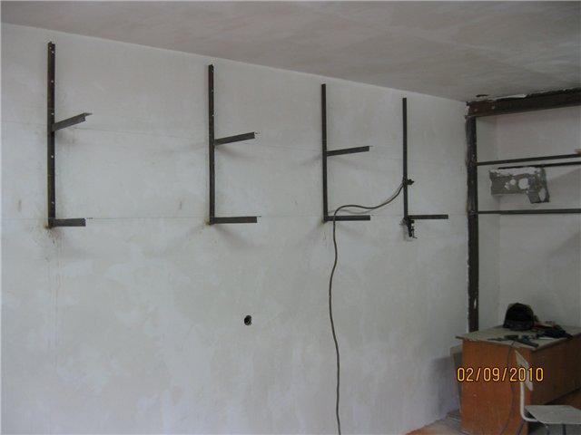 Как самому сделать стеллаж в гараж